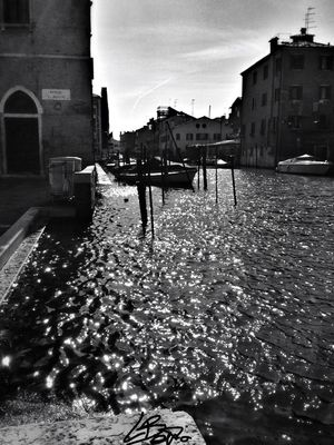 blackandwhite in Venice by Lorenzo Bettio