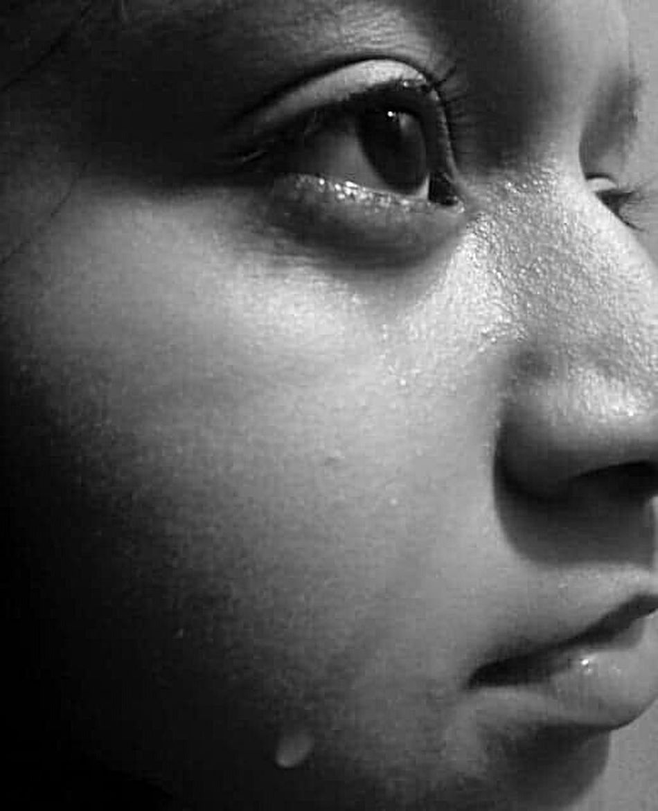 Teardrops Portrait Human Face One Person One Young Woman Only Emotion Emotional Photography Emotions Captured Emotion In Life Emotions Of The EyesMobilephotography Mobile_photographer EyeEmNewHere