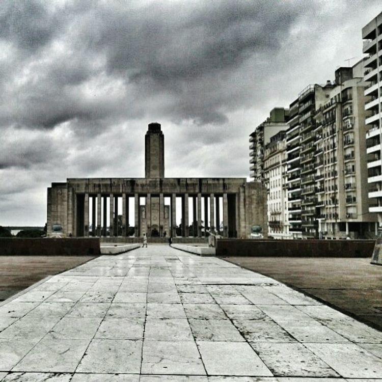 Taking Photos Pic Picture Monument Argentina Cold Grayday Rosario Edificios Antiguos Edifice
