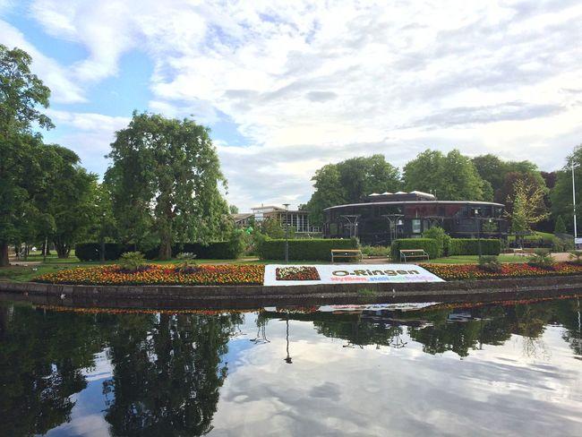 O-ringen is coming to town! Reflection Orangerie Park Borås Viskan