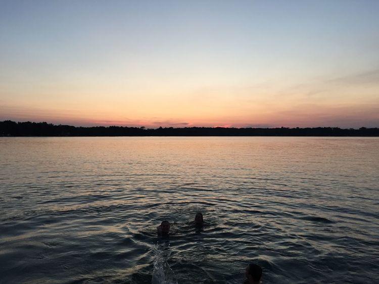 Sunset Lake Life Sunset Wisconsin WisconsinSunset United States