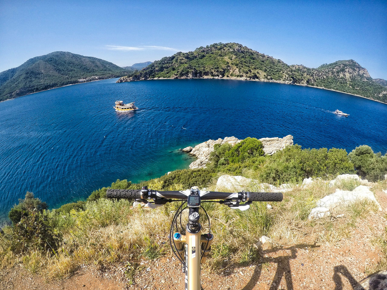 Bike at Marmaris Bicycle Bike Biketour Bisiklet Cycling Cyclocross Fahrrad Holiday Island Lykia Marmaris Mediterranean  Mountainbike MTB Mugla Outdoor Photography Outdoors Roadtrip Sea Sea And Sky Shimano Turkey Türkiye