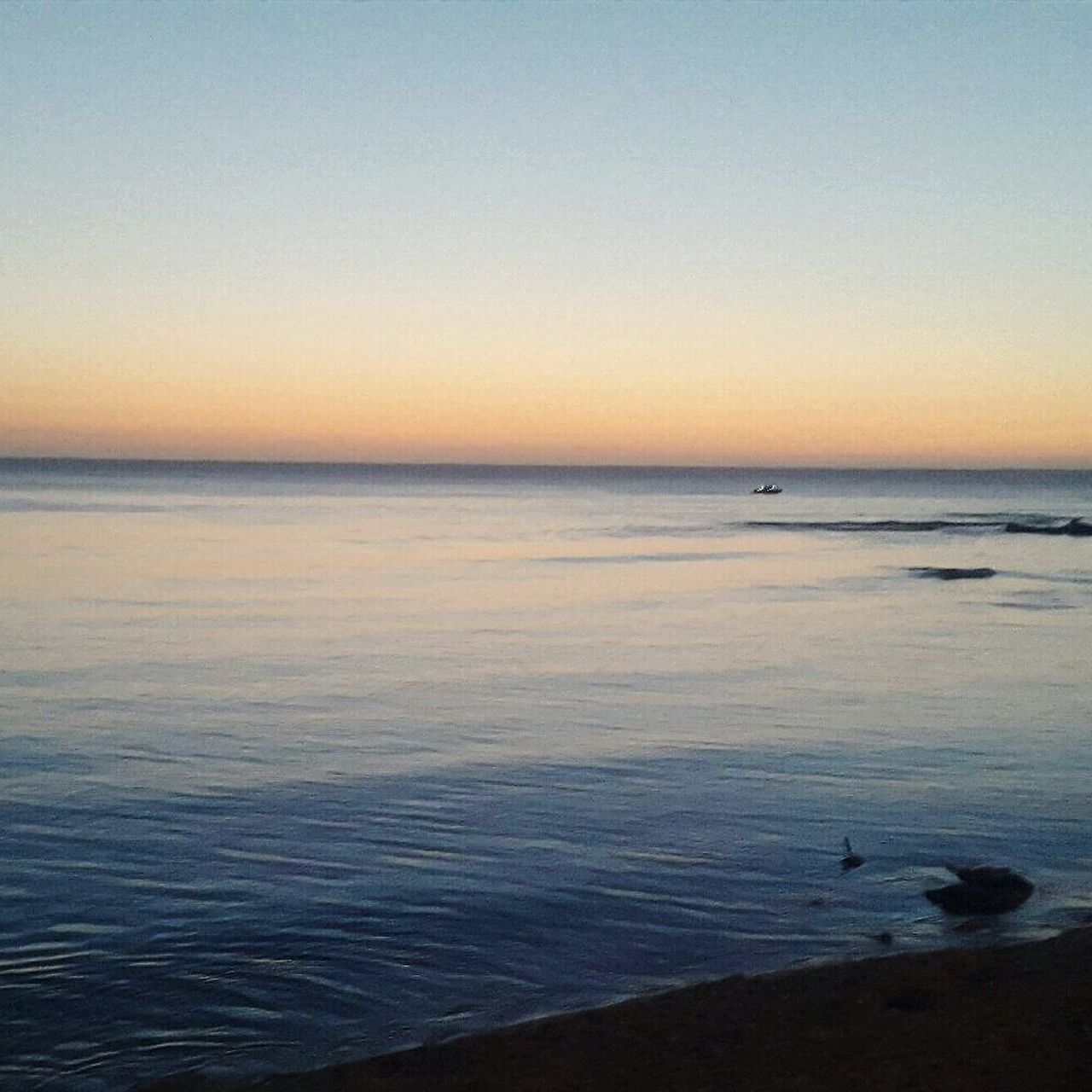 Colour Of Life Calme..¤¤ Coucher De Soleil ❤️ Friendlove Beauty In Nature Waves, Ocean, Nature Algeria Photography North Africa Peace And Quiet First Eyeem Photo