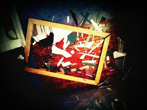 Mirror Mirrored Shattered Dreams