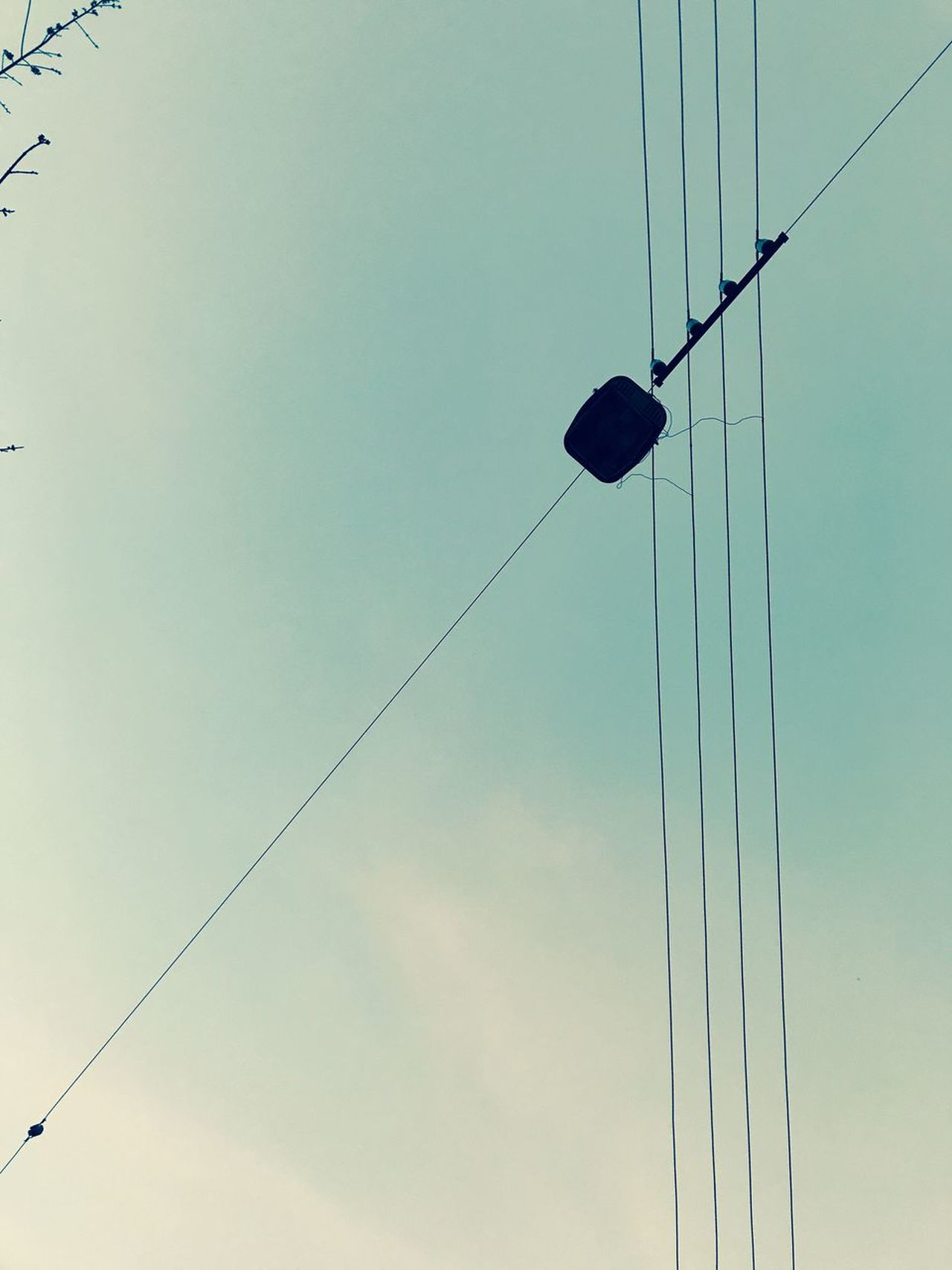 Low Angle View Cable Sky Power Line  Outdoors No People Electricity  Power Supply Day Nature Electric Wire Low Angle View Clear Sky Kiev Shotoniphone7 Urbanphotography Street Photography