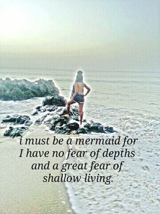 At the shores im at my best.... edits Seashore Rastagirl Mermaid Quote💕 Tobago love affair