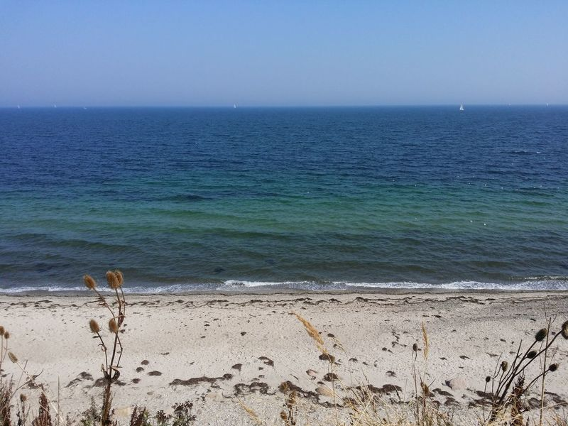 Sea Beach Horizon Over Water Sand Scenics Water Tranquil Scene Shore Tranquility Blue Clear Sky Beauty In Nature Tourism Vacations Nature Travel Destinations Seascape Summer Outdoors Non-urban Scene