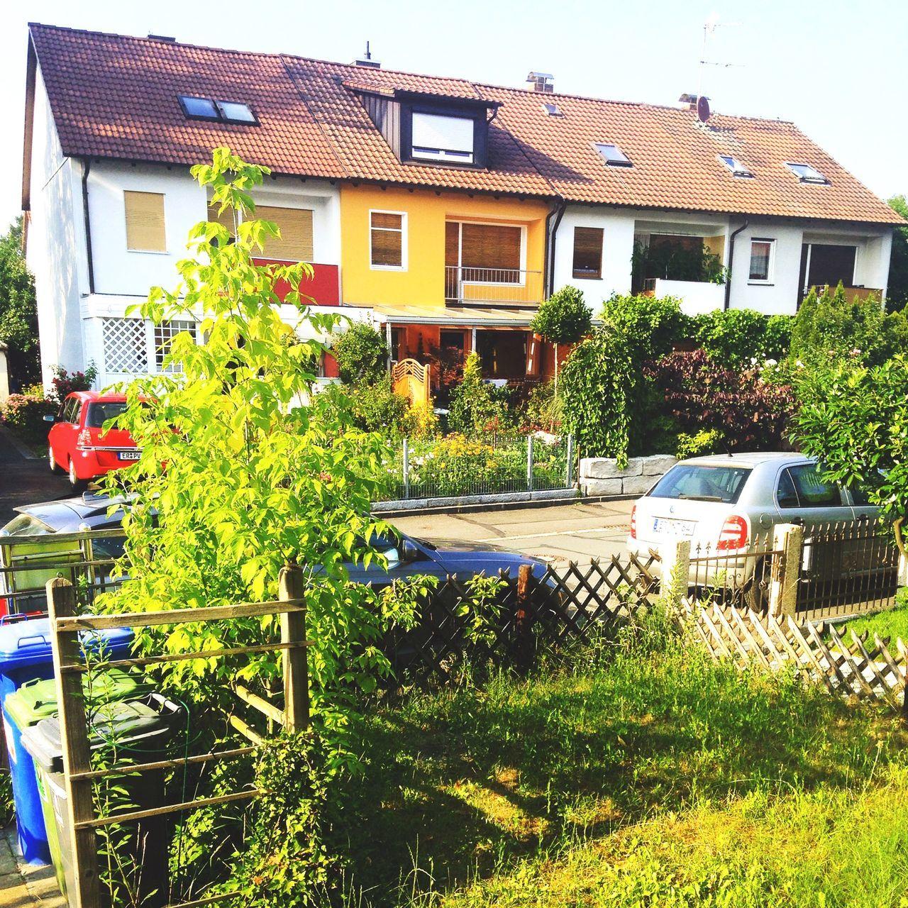 What a special colourful neighbourhood Erlangen