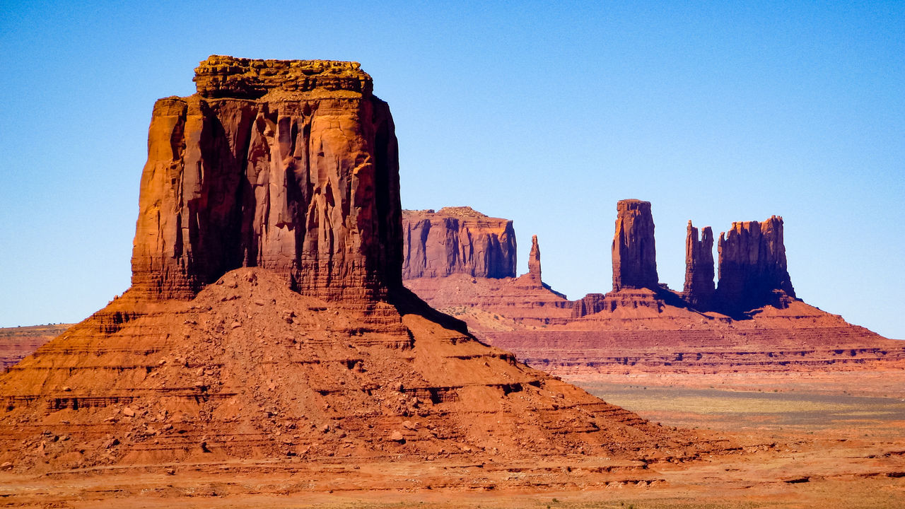 The Old West Eroded Old West  Rocky Landscape Geological Formation Physical Geography Sandstone Scenic Landscapes Geological Formations Eroded Rocks Rocky Mountains USA Wind Erosion Sandstone Rocks Natural Rock - Object Non-urban Scene Monument Valley Rock Formation Western USA