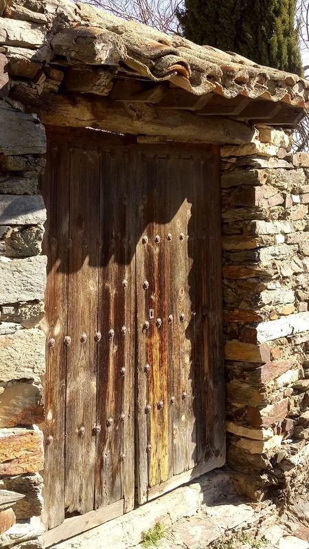 Architecture Bad Condition Close-up Day Door House Nature No People Outdoors Patones De Arriba Textured  Wood - Material