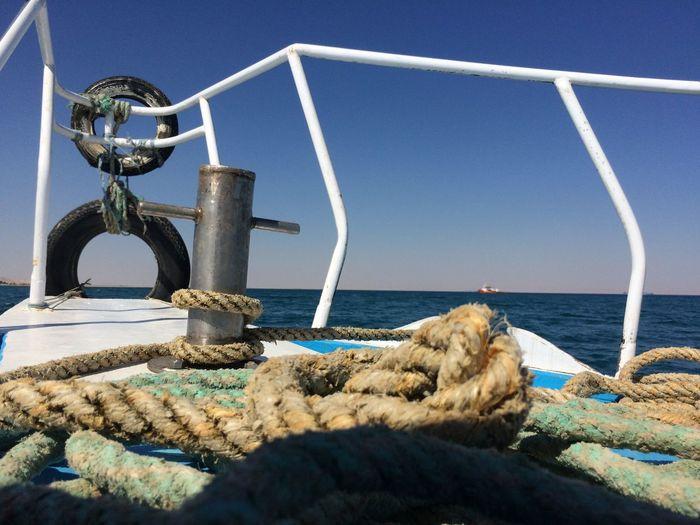 a normal fishing boat Egypt Aien Sok Beauty In Nature Fishing Red Sea Sail Sailboat Sailing Skohn first eyeem photo