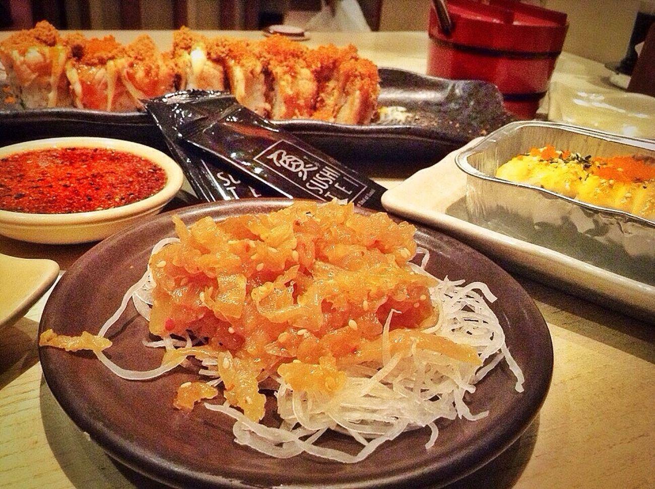 Eating Sushi Jellyfish Food