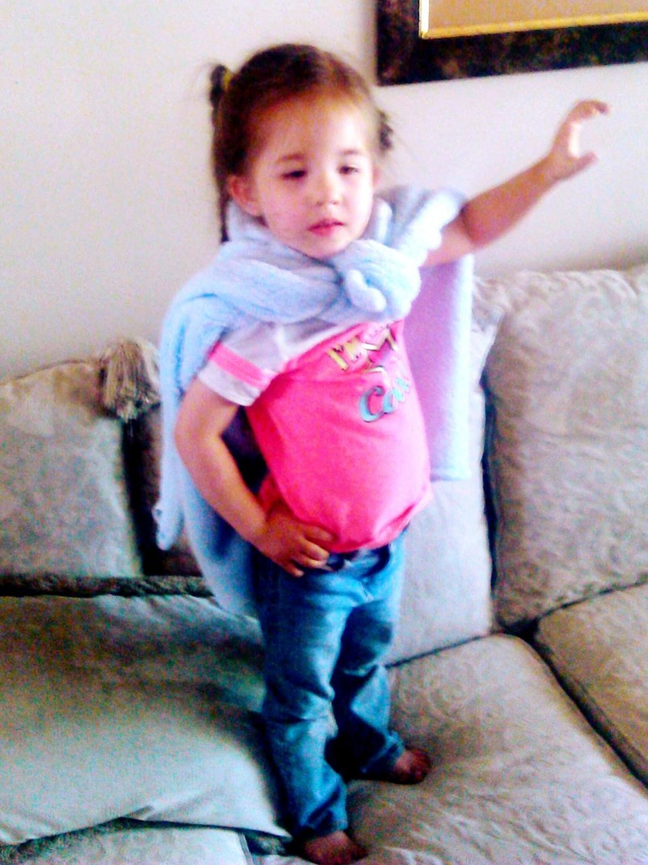 super girl:* super baby super hero super powers!!!