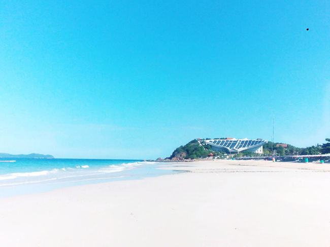 Natural is always beautiful Beauty In Nature Kohlan  Nature Pataya Sea Thailand Water