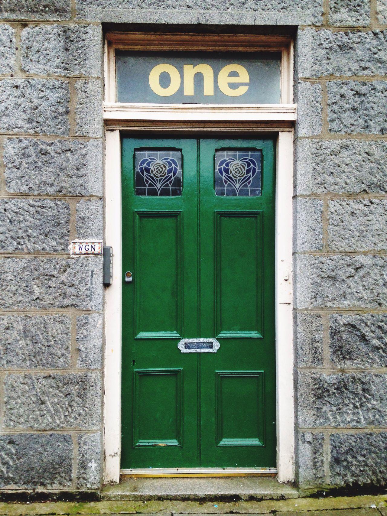 Entrance Entranceway Green Traditional Unique Door Unique Design The One Glass Paint