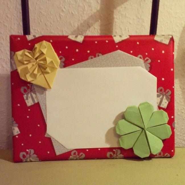 Mühe Gegeben Gift Present for boyfriend's mum mother origami creative kreativ idea idee hope it's nice guess what vietnamese cooking book