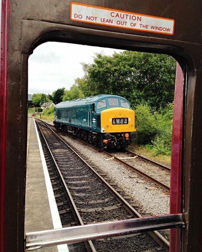 BR Class 45 with a genuine frame! Preservation Diesel Locomotive Diesel Train Mode Of Transport