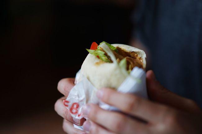 Sandwich Fast Food Falafel Halloumi Streetfood Schawarma Kebab