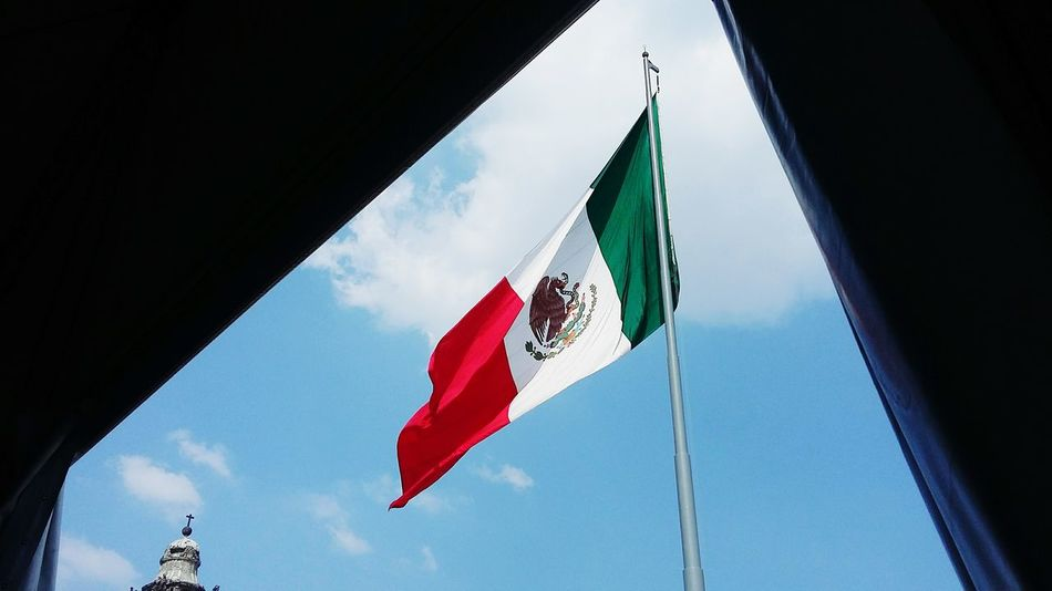 Beautiful stock photos of mexican flag, Capital Cities, Cuauhtémoc, Day, Famous Place