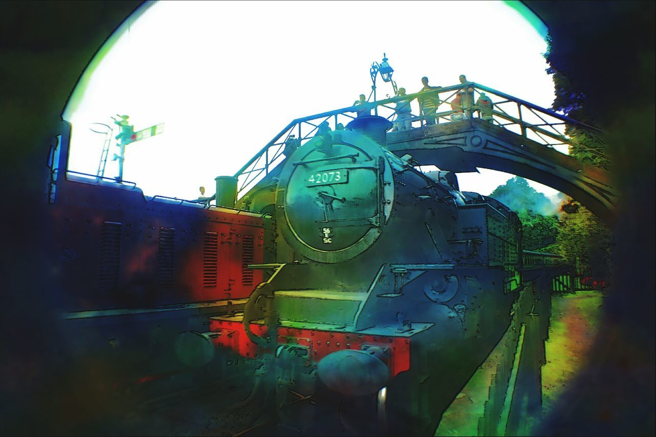 Colourful Pallet Locomotive Taking Photos Water Colour Tank Engine Steam Locomotive Check This Out Enjoying Life Yesterday Hi!