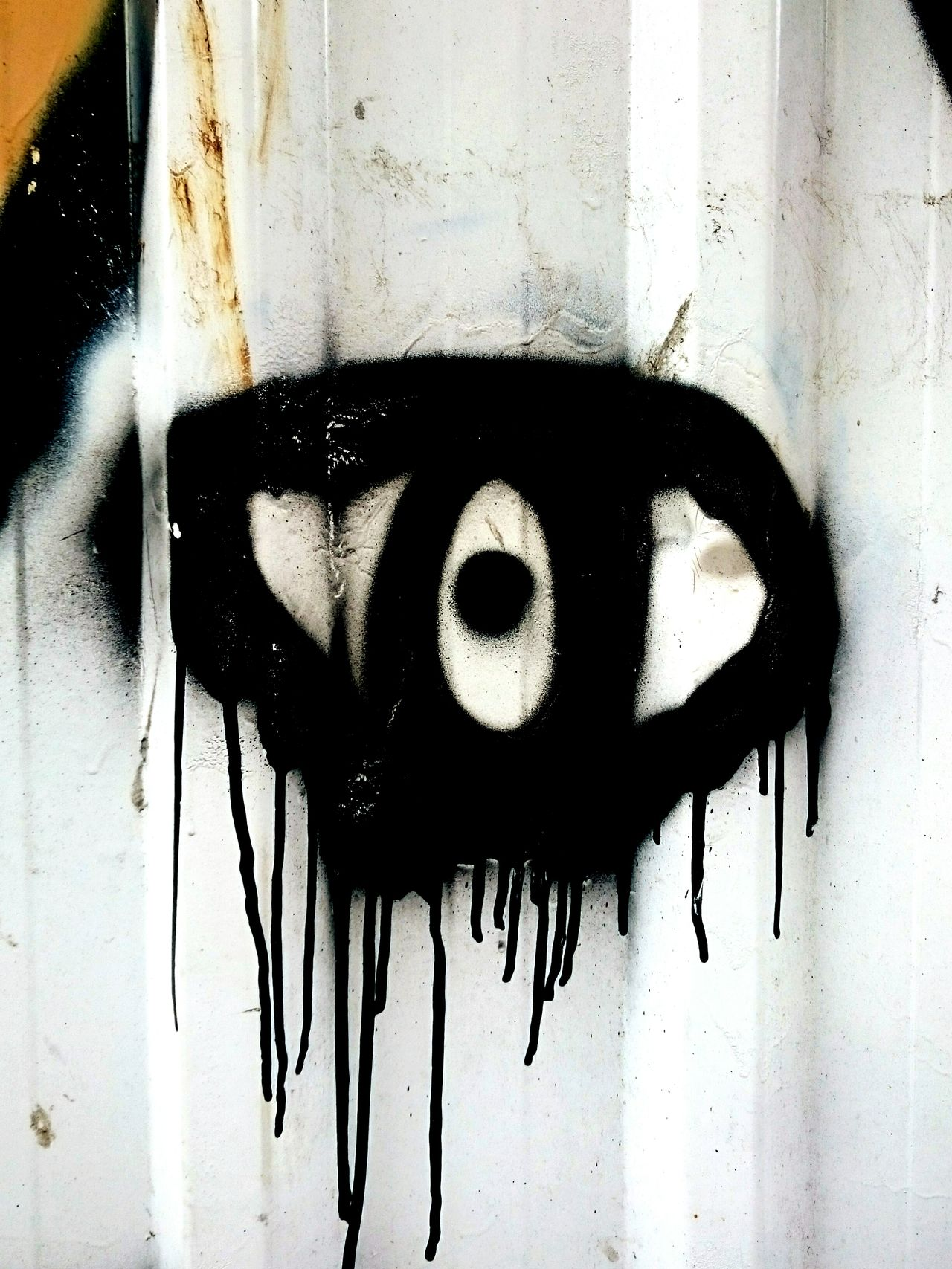 Close-up Human Eye Full Frame Creativity Eye Street Photography Painted Image Textures And Surfaces Aerosol Urbanphotography Amusement  Building Exterior Wall - Building Feature Graffiti Creativity Streetphotography Urban Landscape Backgrounds Ink