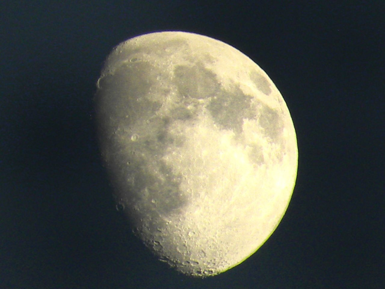 Tonight's offering Moon