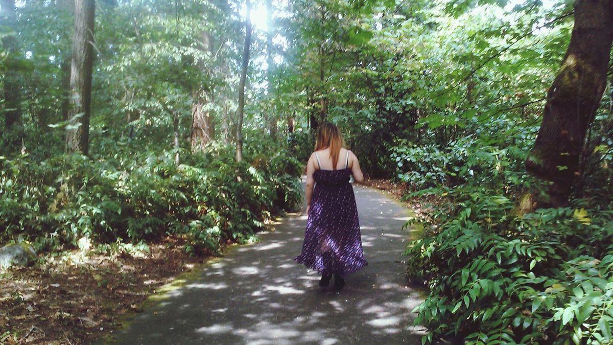 Forestwalk Green Green Green!  Eyeemnaturelover Treelove Secret Garden Serenity Light And Shadow Inspiring Forever Alone Godsbeauty Girl Solitude