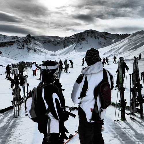 Skiing Ski Bindings Blackandwhite Beauty In Nature Skiing first eyeem photo Val D'Isere Tignes❄️⛄️🎿 Its Out There Mountains Skiing In France Snow Sports Lost In The Landscape Love Skiing Beauty In Nature Outdoors Val D'Isere