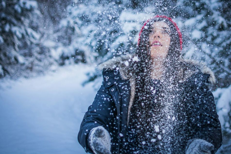 Beautiful stock photos of snowflake, Attractive Female, Beautiful People, Beautiful Woman, Beauty