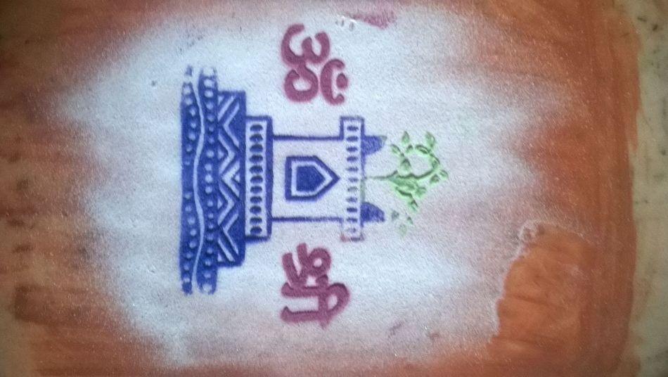 Art Art And Craft Close-up Colorful Rangoli. Communication Creativity Diwali Diwali Celebration Rangoli Festivaloflights Full Frame Graffiti Heart Shape Ideas Indian Indian Festival Information Multi Colored No People Pattern Sign Symbol Text Wall Wall - Building Feature Western Script
