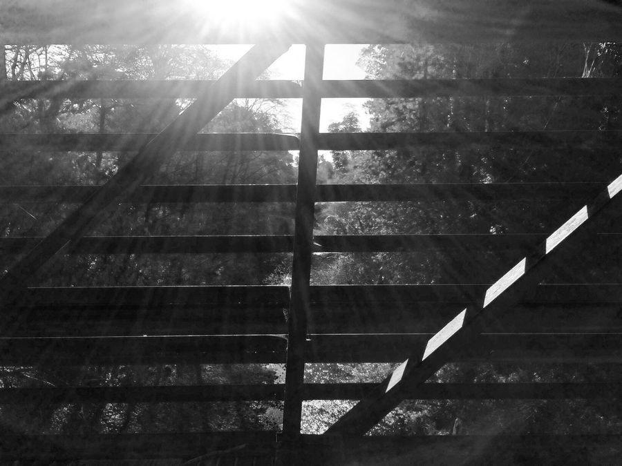 Geometric Shapes Blackandwhite Tadaa Community foot bridge view