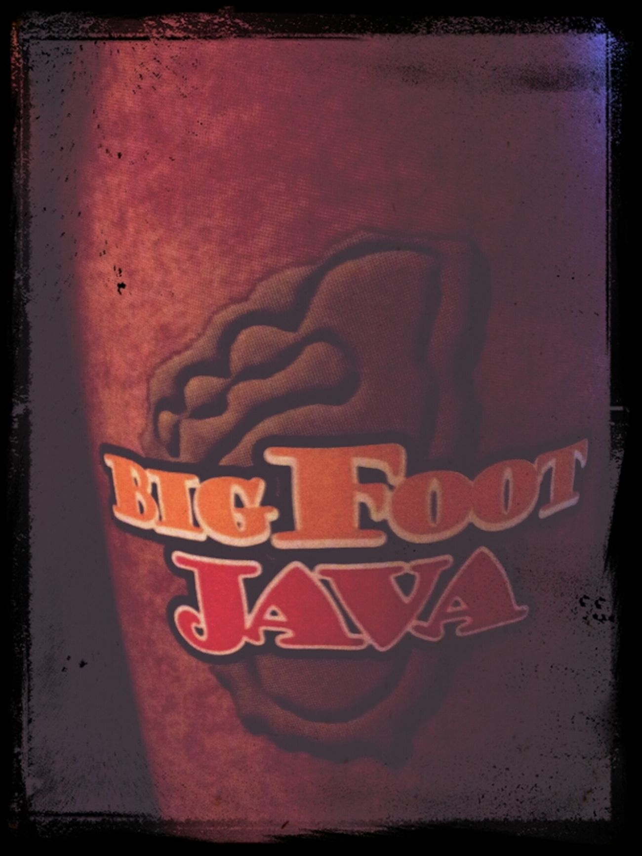 Big Foot Java To Start My Day! (: