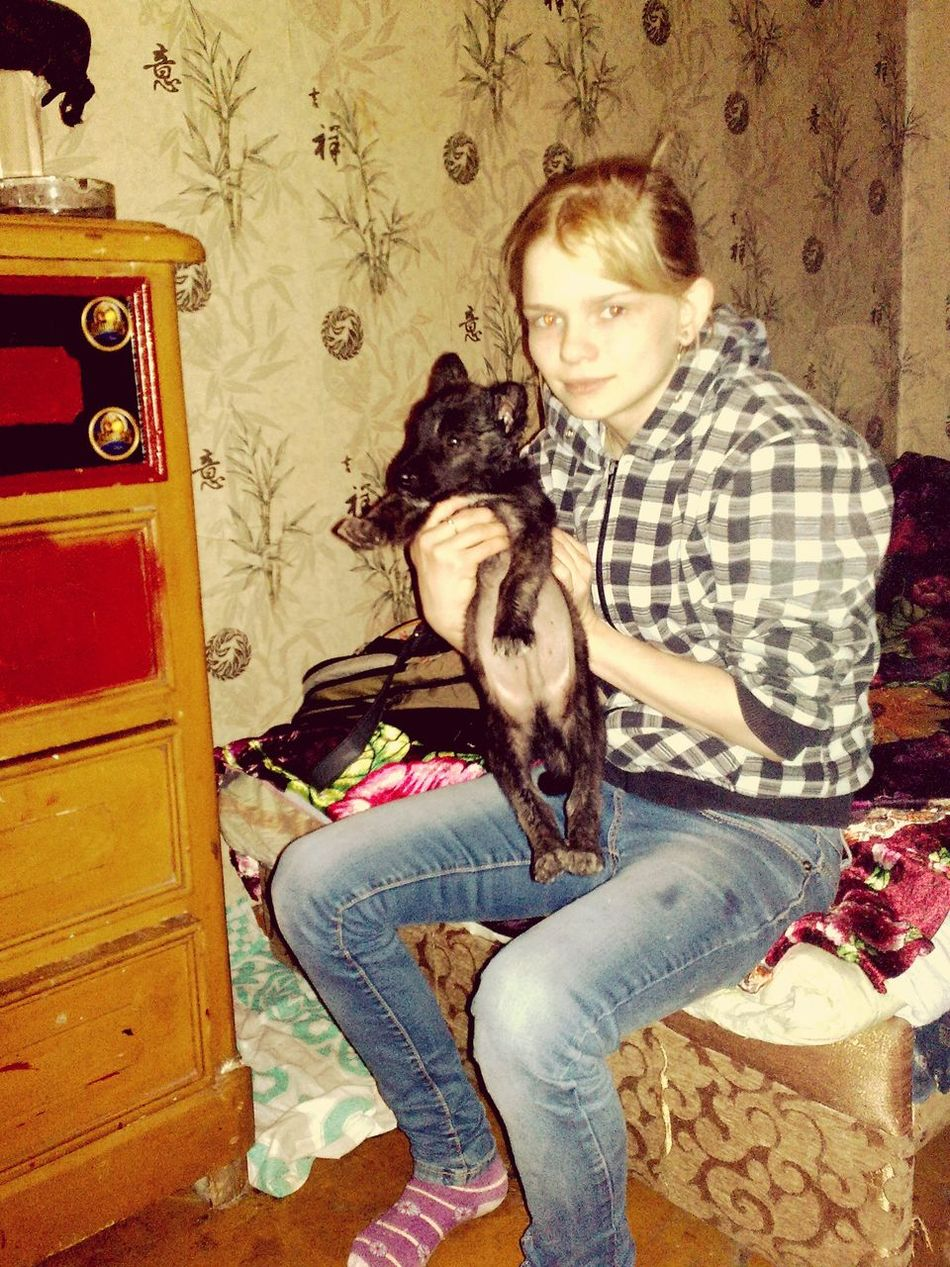 My Puppy Dog(: sister . Now He Is Already A Big