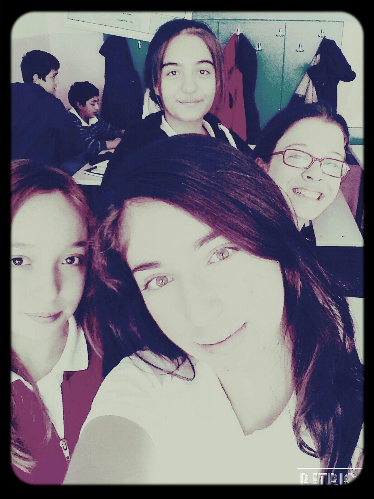 Class Learning Studying Enjoying Life