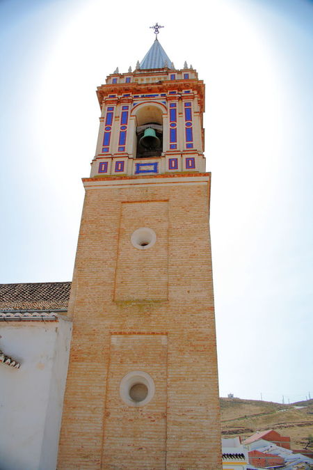 Ardales Church glowing Architecture Ardales Ardales Spain Bell Tower Bell Towers Brick Work Brick Work. Building Exterior Built Structure Church Clock Clock Tower Cross Fish-eye Lens Glowing God Historic History Low Angle View Masonry Place Of Worship Religion Spaın Spirituality Tower