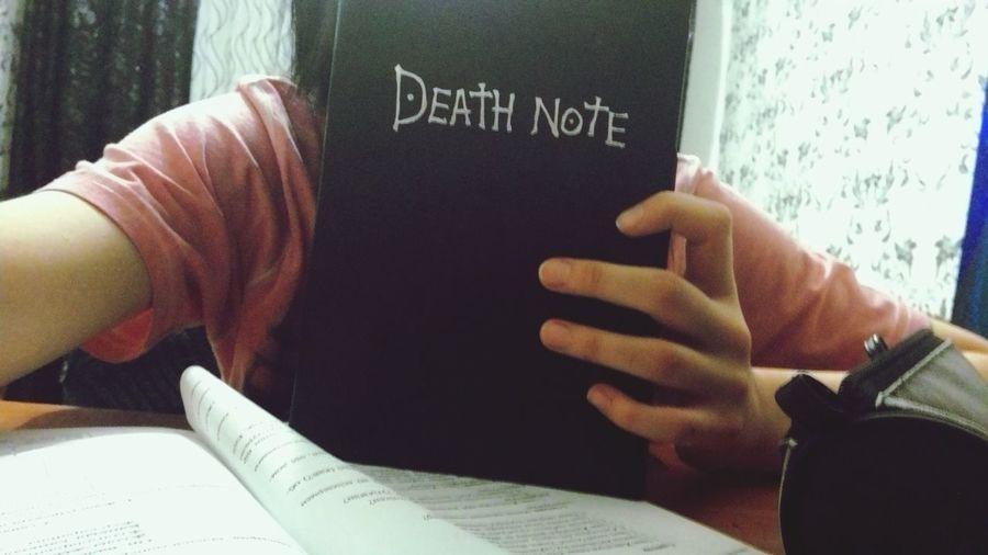 Пальцы-зубочитски ㅋㅋㅋ Death Note My Notebook 성물