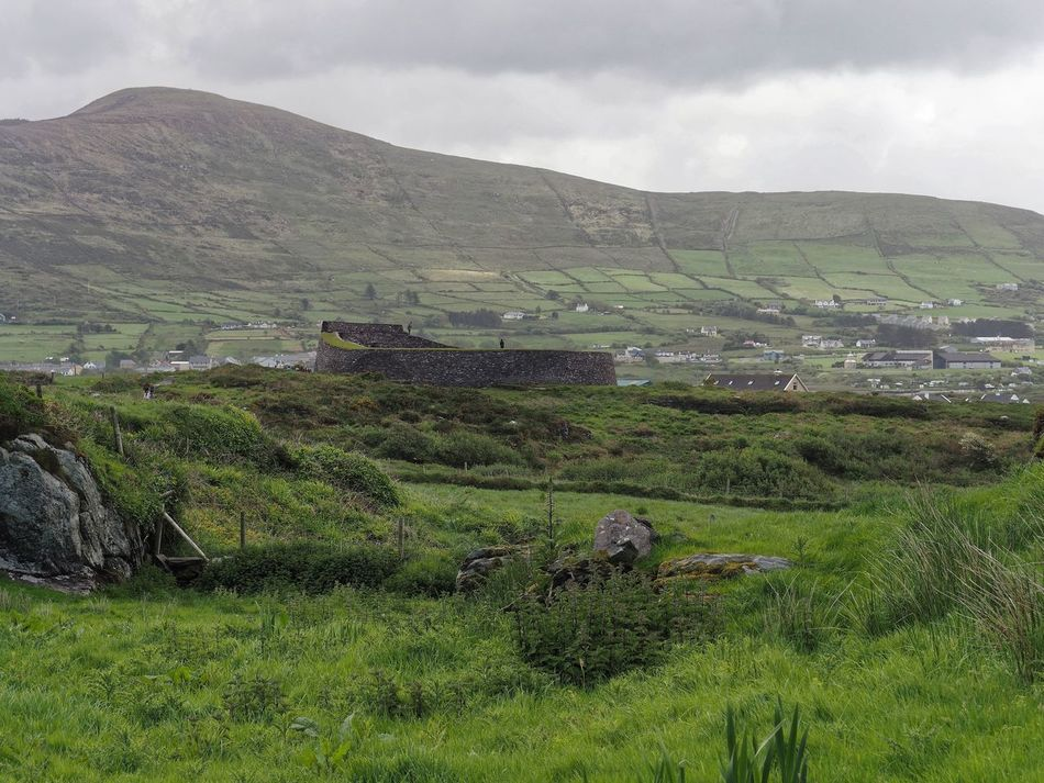 Agriculture Beauty In Nature Cloud - Sky Countryside Day Farm Field Green Color Growth Hill Fort Ireland Irish Landscape Mountain Nature No People Outdoors Rice Paddy Rural Scene Scenics Sky Terraced Field Tranquil Scene