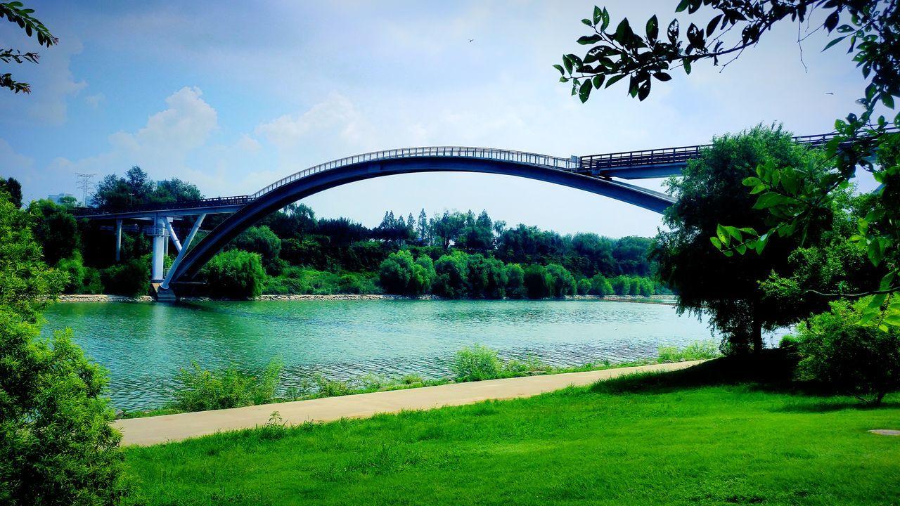 한강 선유도 공원 Bridgescape Bridge View Bridge Arch