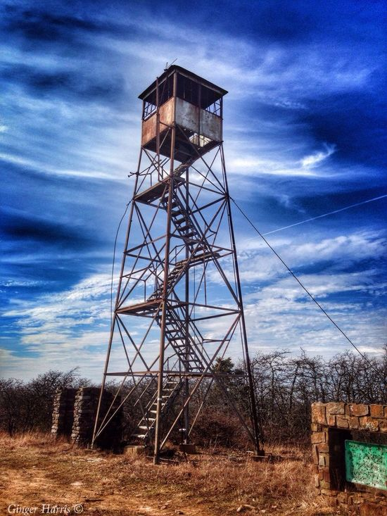 My Friend Ellis took me up on Kamichi Mountian to the Three sticks trail, where up at the very top sits a old Fire look out tower. Got some great photo's! And had a good day! Hope everyone has a Great Wednesday! My Oklahoma Good Morning! Happy Wednesday! SpringBreak