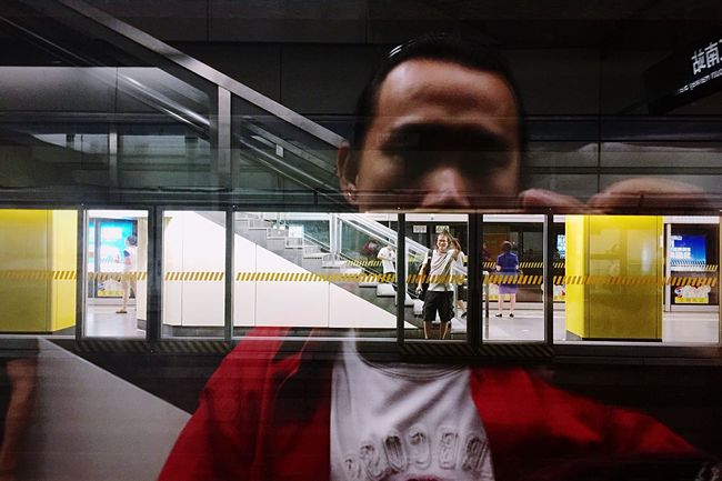 Clouds IPhone Photography People Life China Iphoneonly Night Train Station Subway