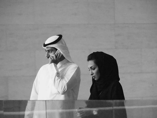 Doha,Qatar Burka  Couple Blackandwhite Blackandwhite Photography Abaya Arabic Islam