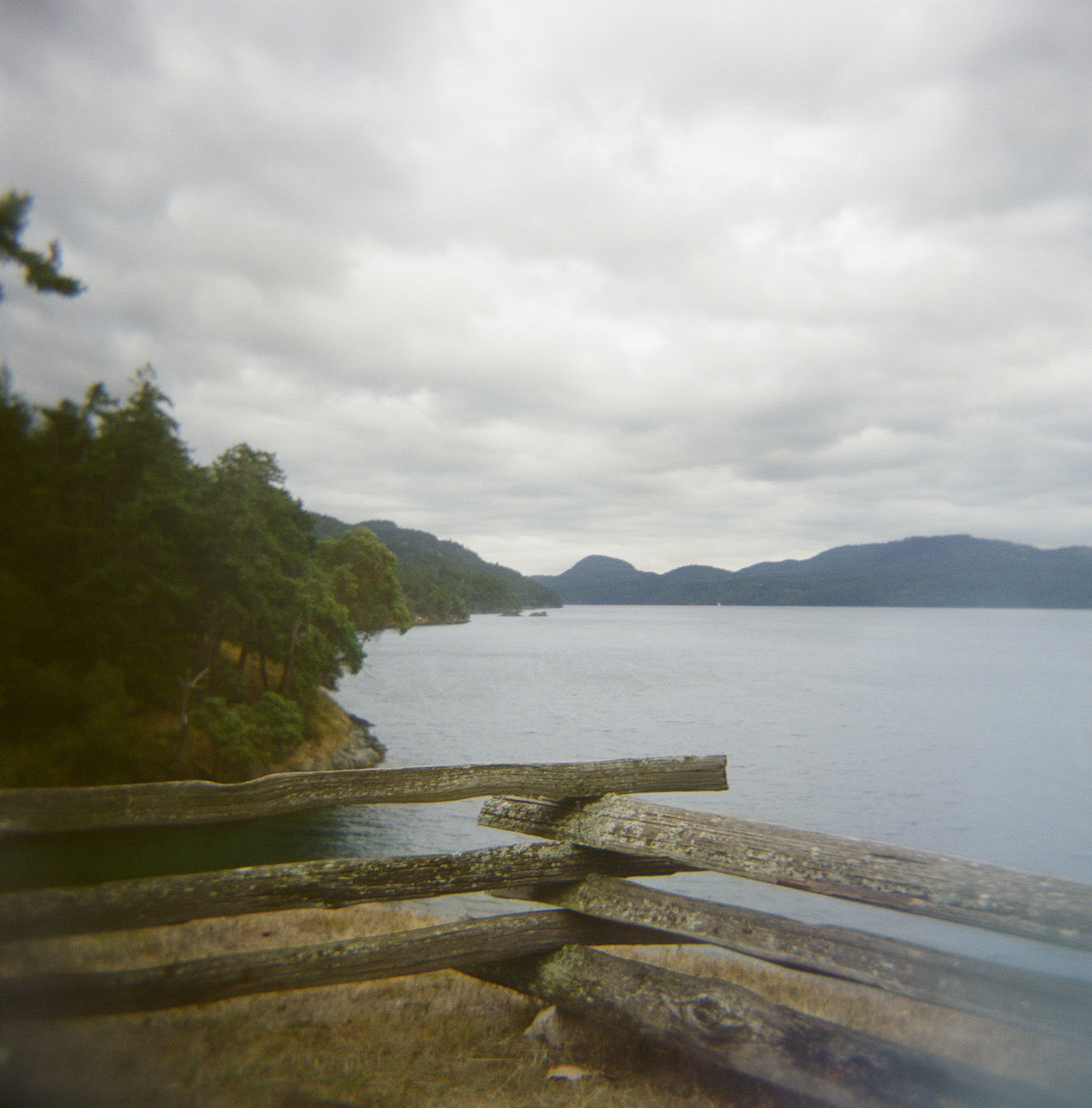 sky, scenics, tranquility, nature, tranquil scene, water, no people, cloud - sky, beauty in nature, day, outdoors, mountain, tree, sea