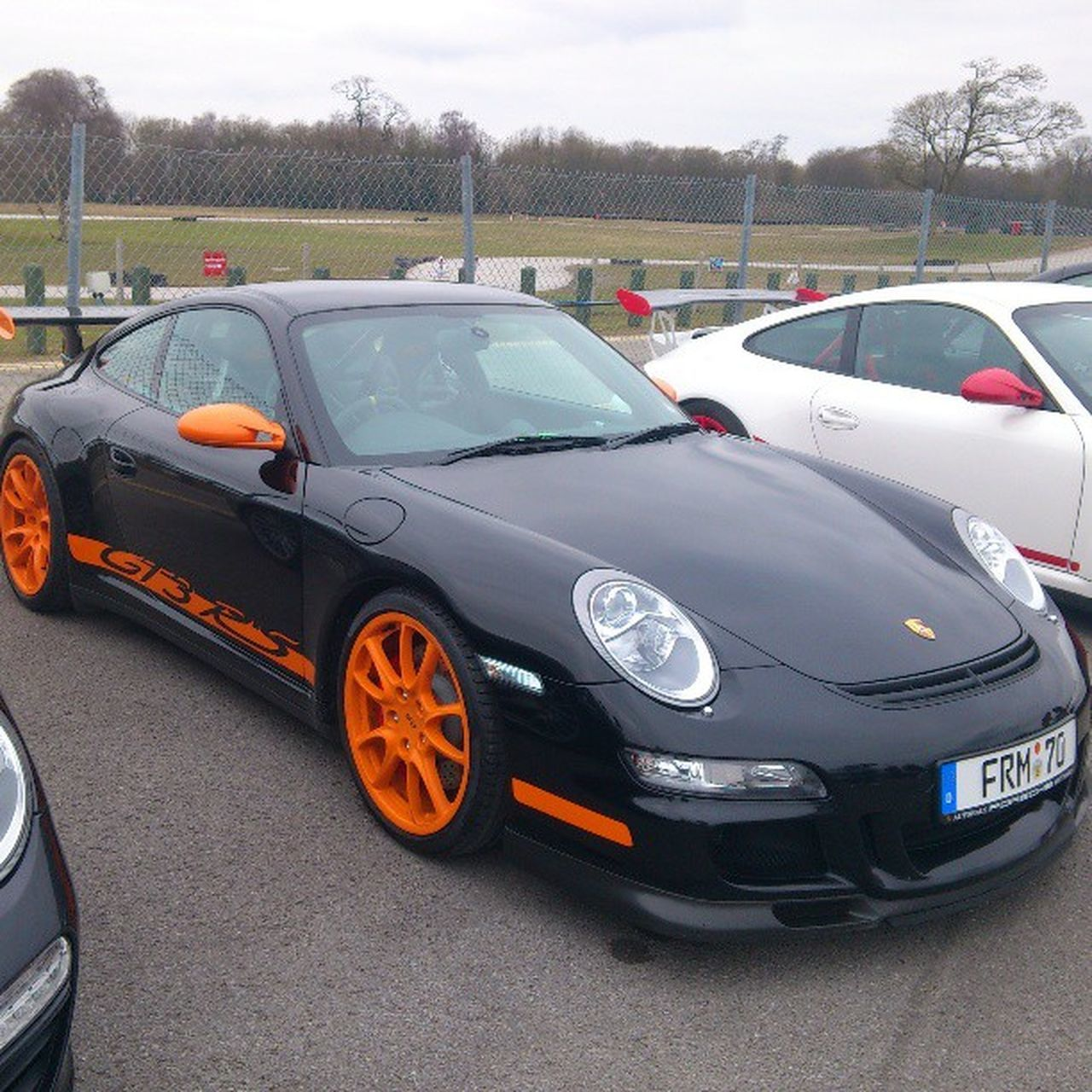 Porsche Gt3rs Racing Oultonpark
