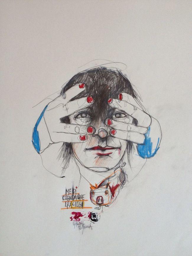 ...me di cuenta que era ciego... El Túnel de Sabato. www.algunasplantasraras.com