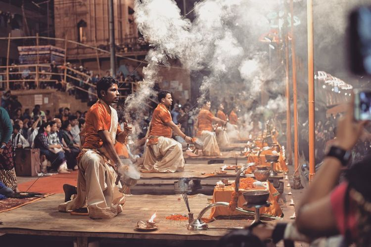 Religion Varanasi, India Ganges, Indian Lifestyle And Culture, Bathing In The Ganges, NikonAsia Nikond750 Nikonindia Traveller's Dairy Live For The Story Varanasighat Varanasi_igers Varanasi India Business Stories