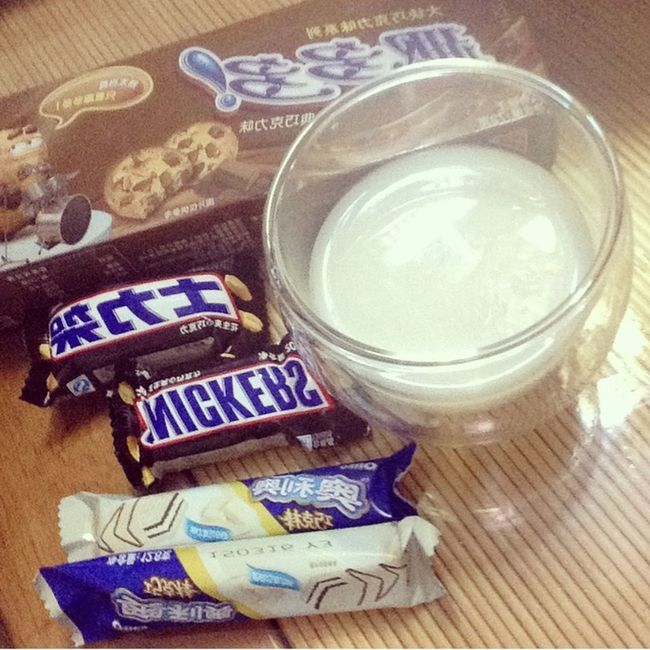 Snack Snickers Oreo Chips Ahoy