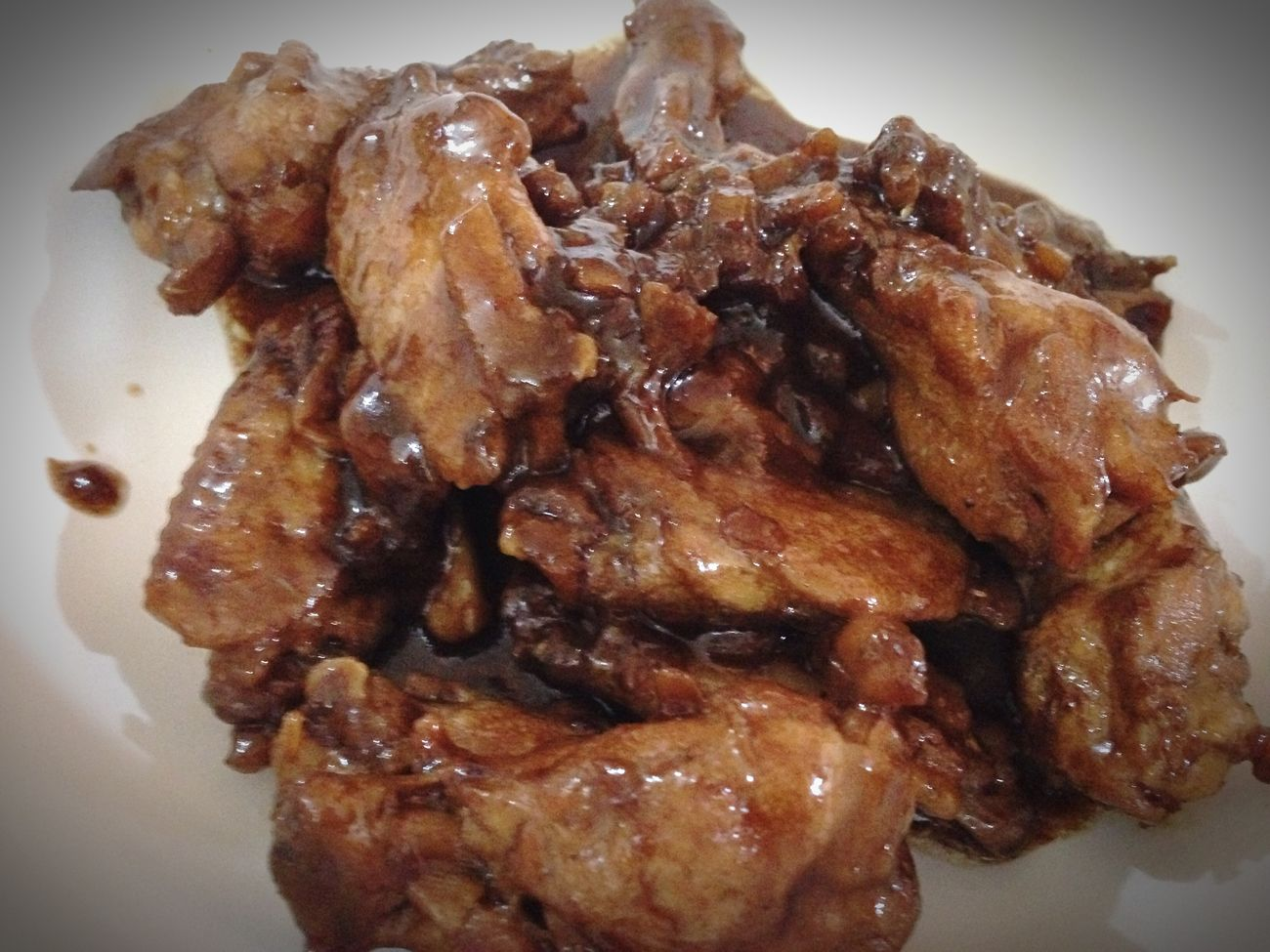 My adobong manok.. LetsEat Whileitsstillhot Bfast
