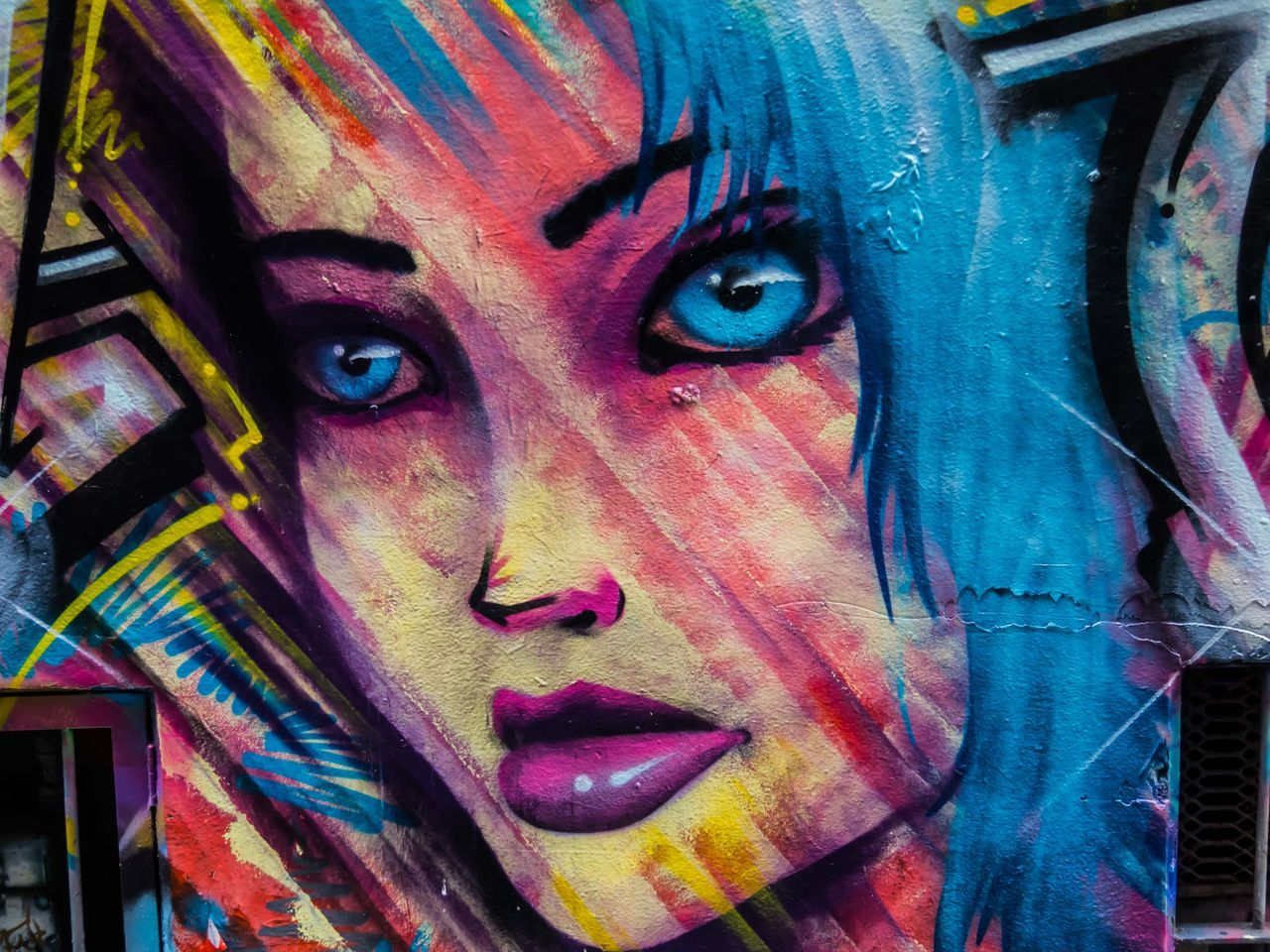Art And Craft Close-up Day Female Girl Graffiti Multi Colored No People Outdoors