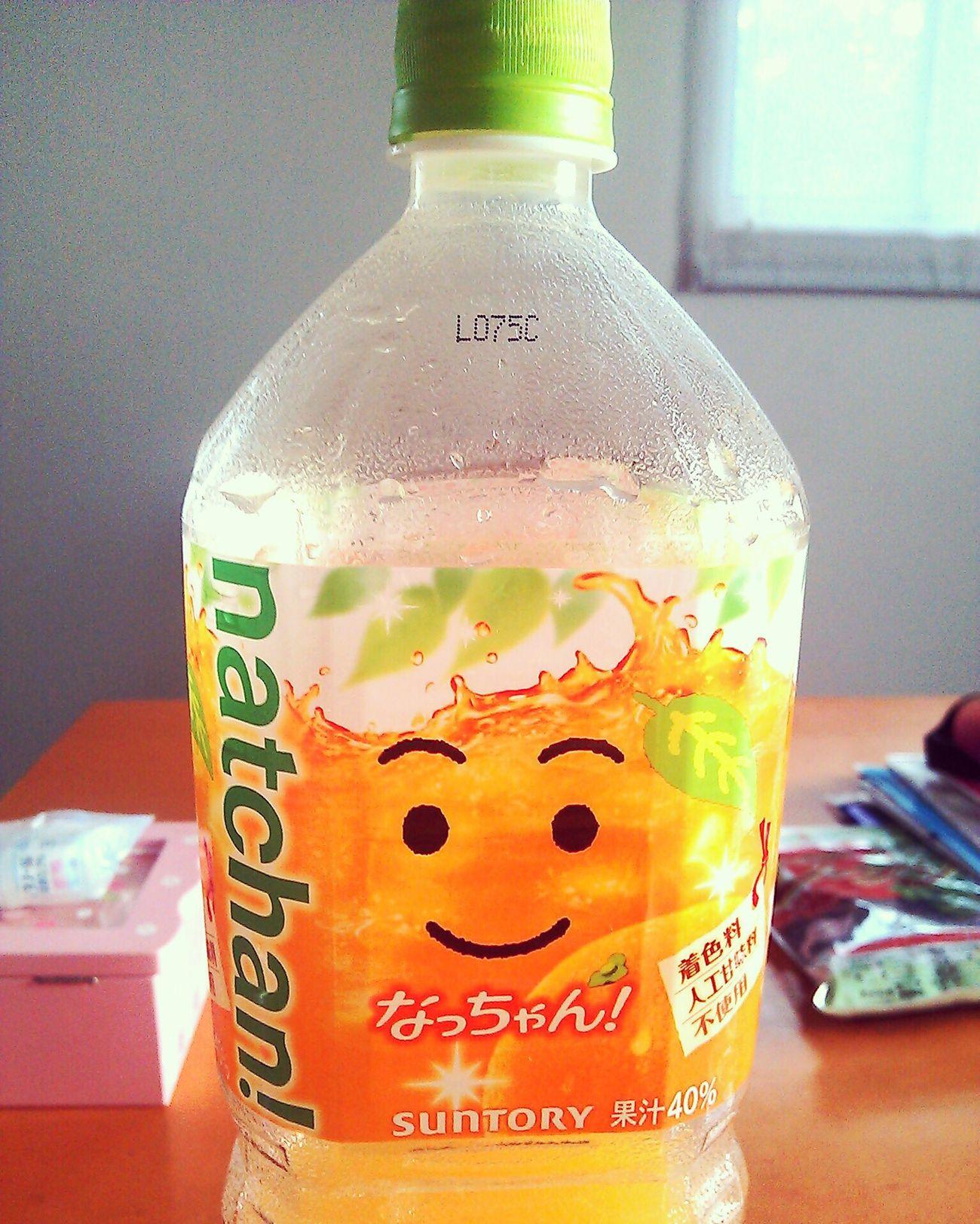 もう夏かなー? なっちゃん オレンジ ジュース オレンジジュース 大好き First Eyeem Photo