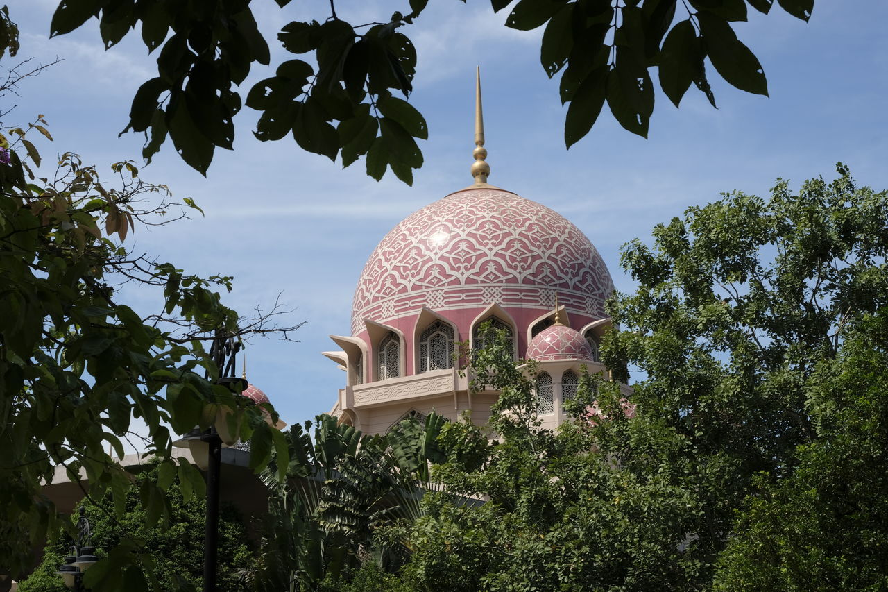 Architecture Built Structure City Cupola Day Dome No People Outdoors Place Of Worship Sky Travel Travel Destinations Traveling Tree